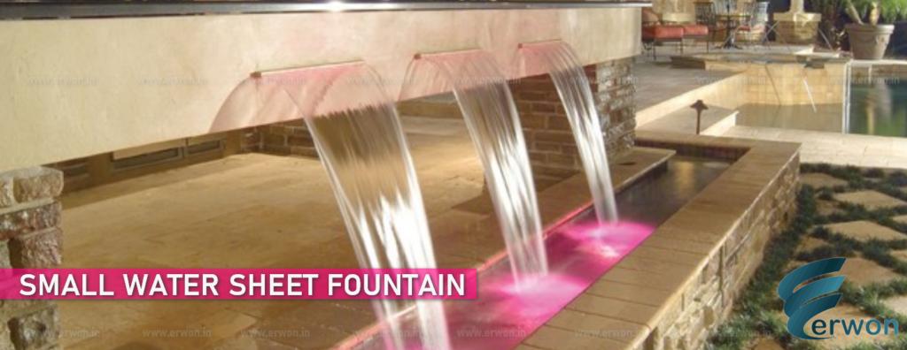Small Water Sheet Fountain