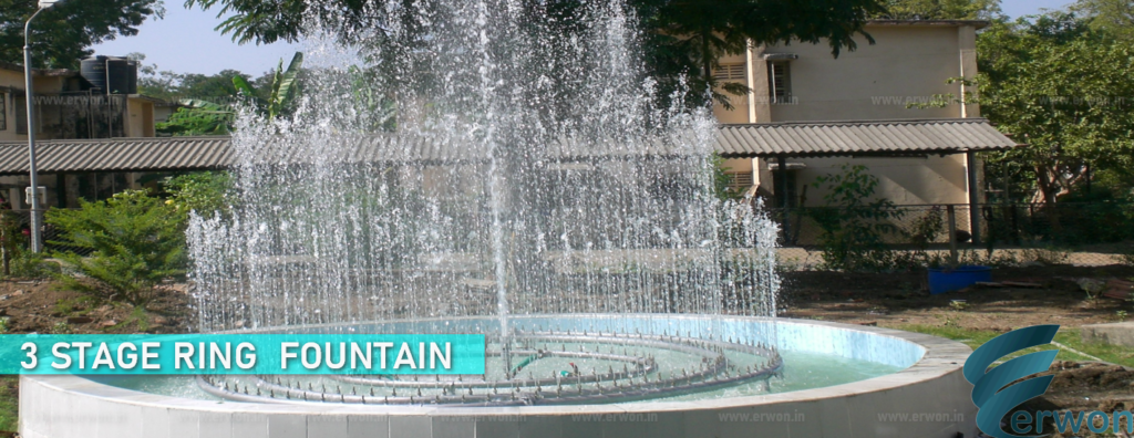 3 Stage Ring Fountain
