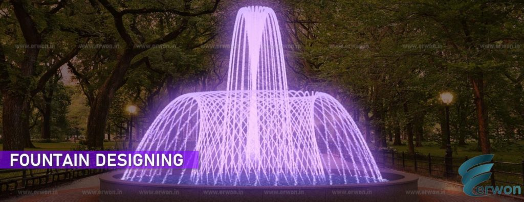 Fountain Designing - Planning - Concept - Manufacture - Supplier - Consultant - Erwon Energy