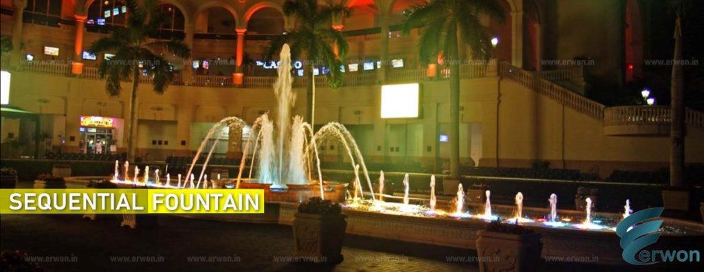 Sequential Fountain - Manufacturer - supplier - Erwon Energy