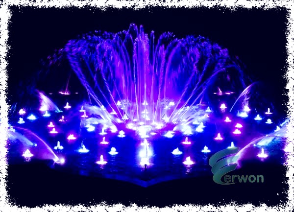 Musical Fountains manufacturer in India - Erwon Energy